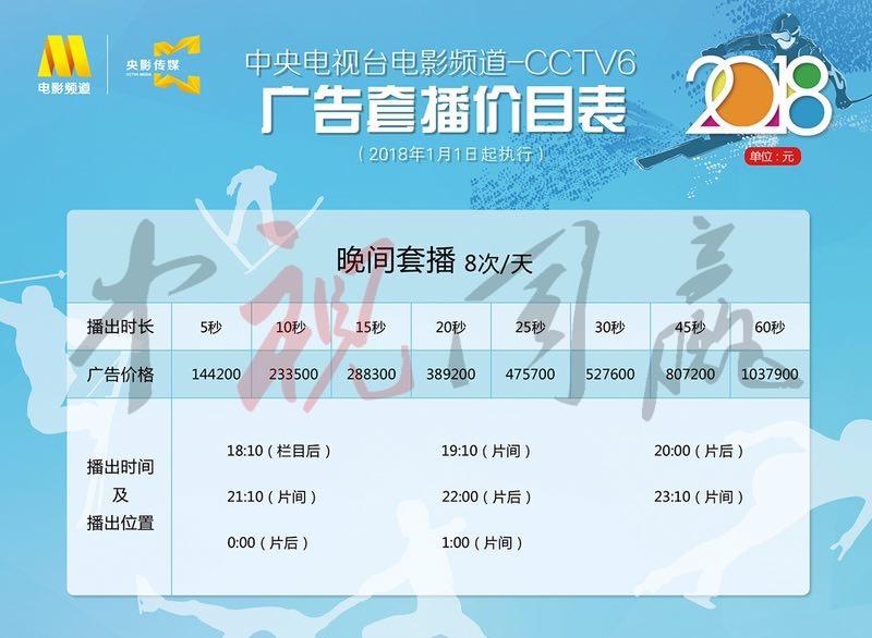 2019年CCTV-6晚间套@中视同赢